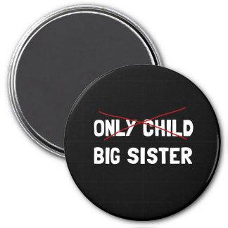 Aimant Grande soeur d'enfant unique
