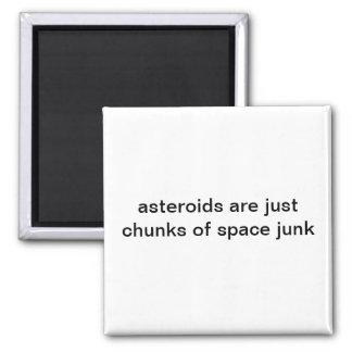 Aimant Gros morceaux d'aimant d'ordure d'espace
