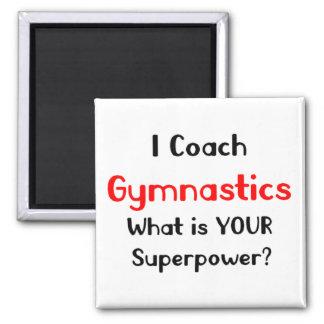 Aimant Gymnastique d'entraîneur