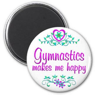 Aimant Gymnastique heureuse