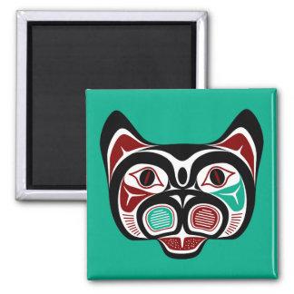 Aimant Haida du nord-ouest Kitty de Côte Pacifique