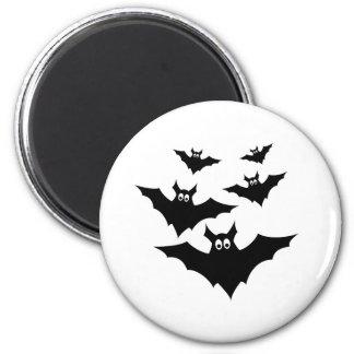 Aimant Halloween mignon frais manie la batte l'aimant