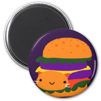 Aimant hamburger