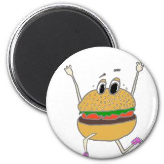 Aimant hamburger courant