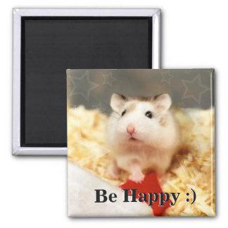 Aimant Hammyville - hamster mignon