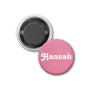 Aimant Hannah
