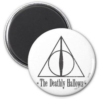 Aimant Harry Potter | le de mort sanctifie l'emblème