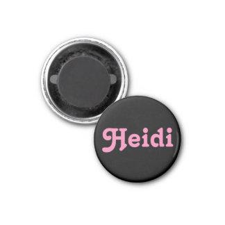 Aimant Heidi