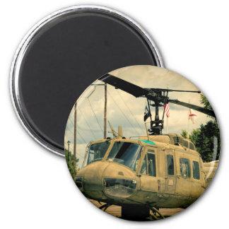 Aimant Hélicoptère vintage de militaires de l'ère Uh-1