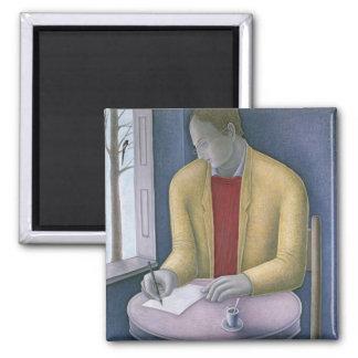 Aimant Homme écrivant 2004