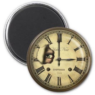 Aimant Horloge déplaisante d'hôtel personnalisée