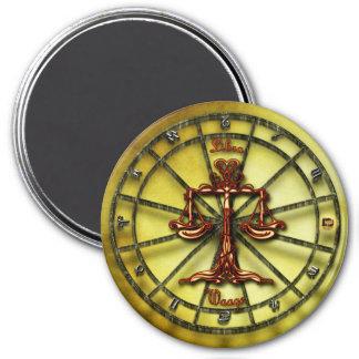Aimant Horoscope de conception d'astrologie de zodiaque