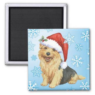 Aimant Howlidays heureux Norfolk Terrier