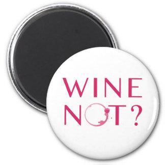 Aimant Humour d'amateur de vin du vin non  