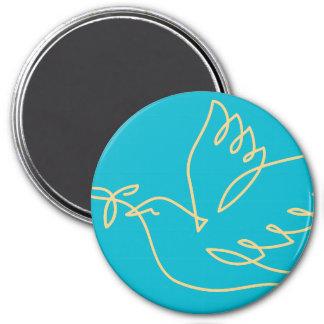 Aimant Icône de colombe de paix