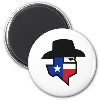 Aimant Icône de drapeau du Texas de bandit