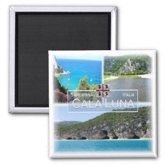 Aimant IL # l'Italie - la Sardaigne - le Baunei - crique
