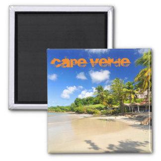 Aimant Île tropicale au Cap Vert