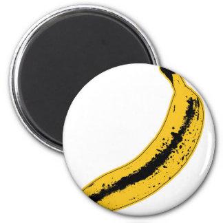 Aimant Illustration de banane dans le style d'art de