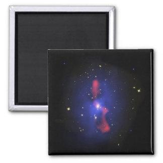 Aimant Image composée d'un groupe de galaxie