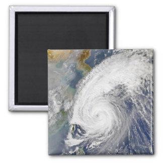 Aimant Image satellite d'un ouragan