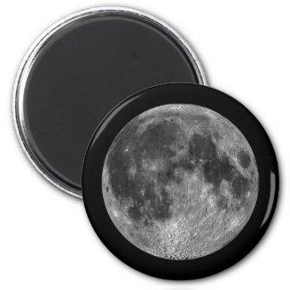 Aimant Images lunaires de pleine lune d'espace