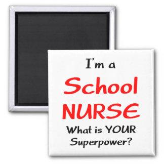Aimant Infirmière d'école