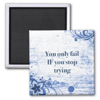 Aimant Inspiration de motivation de la citation   de mots