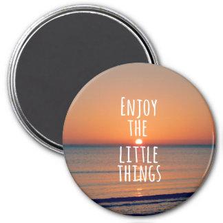 Aimant Inspiré appréciez la petite citation de choses