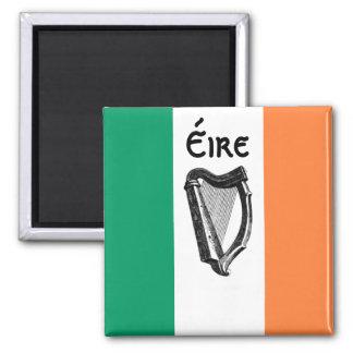 Aimant irlandais de drapeau