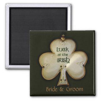 Aimant irlandais de shamrock