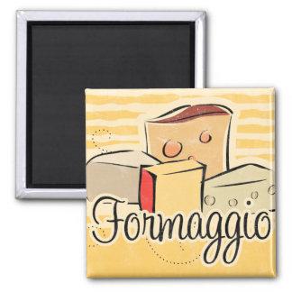 Aimant italien de cuisine de fromage