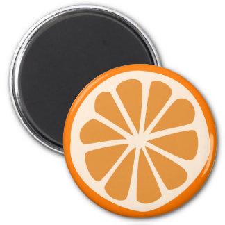 Aimant J orange