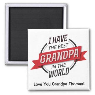 Aimant J'ai le meilleur grand-papa dans l'aimant du monde