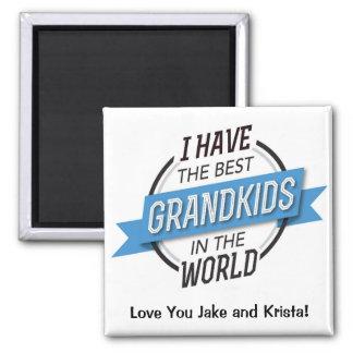 Aimant J'ai les meilleurs Grandkids dans l'aimant du