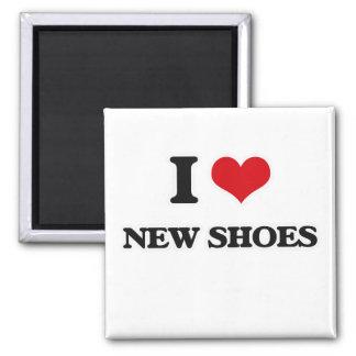 Aimant J'aime de nouvelles chaussures