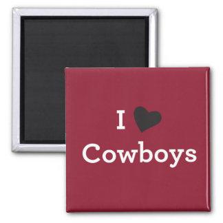 Aimant J'aime des cowboys