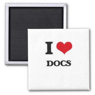 Aimant J'aime des Doc.s