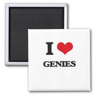 Aimant J'aime des Genies