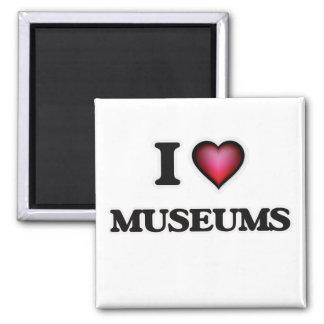 Aimant J'aime des musées