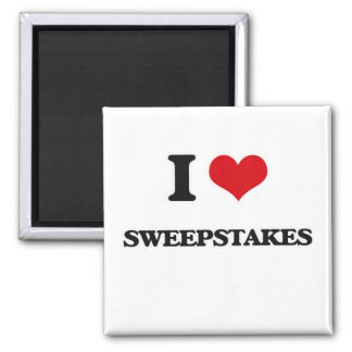 Aimant J'aime des sweepstakes