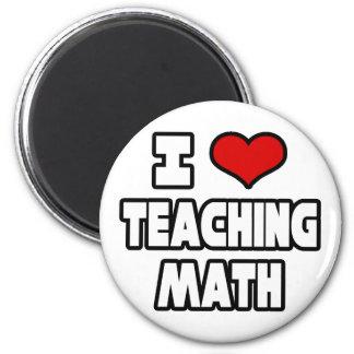 Aimant J'aime enseigner des maths