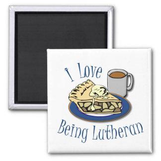 Aimant J'aime être Luthérien drôle