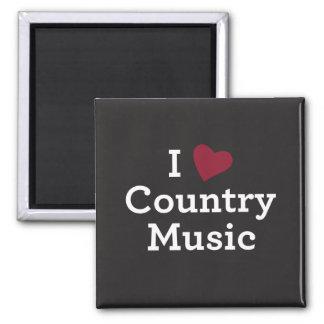 Aimant J'aime la musique country