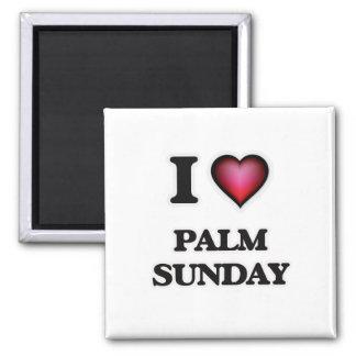 Aimant J'aime la paume dimanche