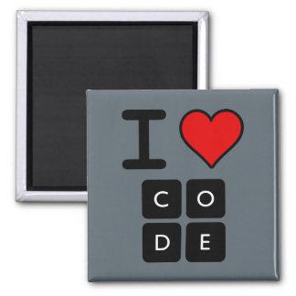 Aimant J'aime le code