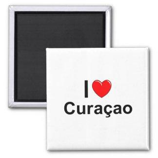 Aimant J'aime le coeur Curaçao