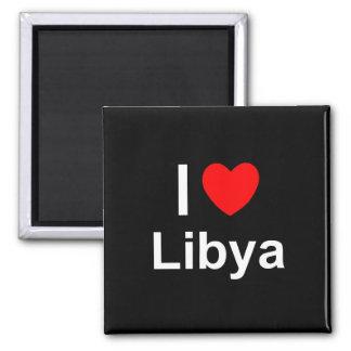 Aimant J'aime le coeur Libye