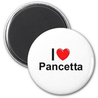 Aimant J'aime le coeur Pancetta
