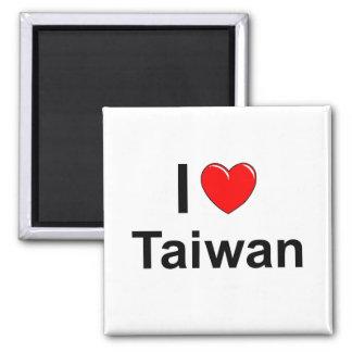 Aimant J'aime le coeur Taïwan